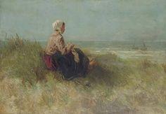 Waiting by Dutch Painter Josef Israels 1824 - 1911 http://www.haoss.org/t8590-jozef-israels
