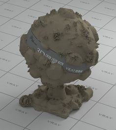 Rough terrain vray material V Ray Materials, Combat Boots, Sculpture, Statue, Sculptures, Sculpting, Carving