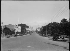 St George's Terrace, Perth looking east, ca. 1929.