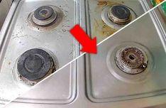 Las cocinas pueden ser difíciles de limpiar, por la grasa de las cocciones y las salpicaduras de aceite. Si no lo haces de inmediato necesitarás soluciones de limpieza específicas para limpiar la grasa de la estufa. Veamos una solución muy fácil y efectiva para que tu estufa quede resplandeciente