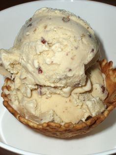 Southern homemade Butter Pecan Ice Cream