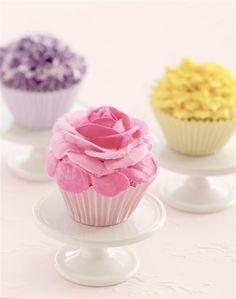 Davi de Trivi nos propone unos tentadores y glamorosos cupcakes .