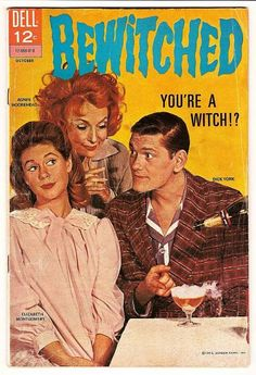 Bewitched - Elizabeth Montgomery - Dick York - Agnes Moorehead