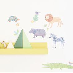 Mini stickers Safari : Love Maé - Berceau Magique