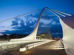 Samuel Beckett Bridge / Dublin (Gallery) - Santiago Calatrava – Architects & Engineers