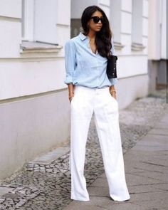 eye 18 Super Fashion Classy Going Out Outfits Ideas - outfit ideas summer,outfit ideas summer women, 30 Outfits, Trouser Outfits, Office Outfits Women, Spring Work Outfits, Casual Summer Outfits, Cool Outfits, Trendy Outfits, Business Outfit Frau, Business Casual Attire