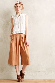 Kinney Culottes #anthropologie