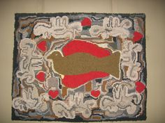 my hook rug from an EAL mag pic I saw long ago.