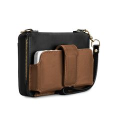 Case-Mate Universal Kayla Clutch - Leather Color Block w/ Chain