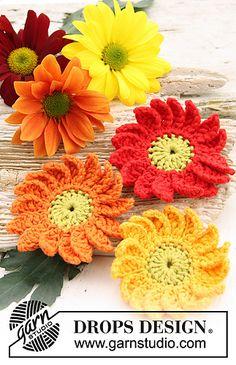 Marguerite - Flowers ~ free pattern ᛡ