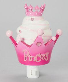 Cupcake Crown Night-Light #zulily #zulilyfinds