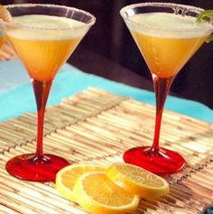 Margarita sin alcohol en HazteVegetariano.com