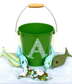Homemade gift ideas for kids-love the fishing one