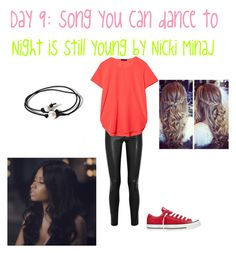 """""""Day 9: song you can dance to"""" by ponyboysgirlfriend ❤ liked on Polyvore"""