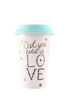 take away mug LOVE OWL