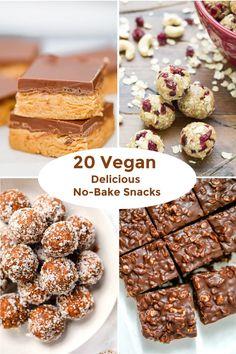 20 Easy Vegan Delicious No-Bake Snacks