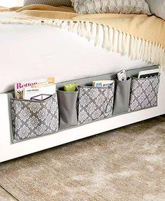Bedside Storage Pockets