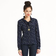 Kate Spade blouses are my absolute favorite. Super comfy and tres chic.