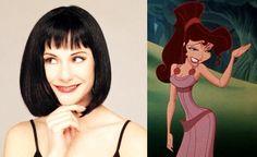 Megara [voiced by Susan Egan] - Hercules Susan Egan, Megara Hercules, Movie Facts, The Voice, Snow White, Disney Characters, Fictional Characters, Disney Princess, Celebrities