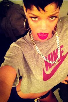 RiRi be like I do it #nike