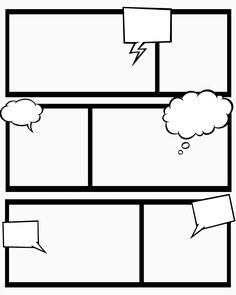 7 Best Images of Comic Book Templates Printable Free - Printable Comic Strip Paper, Comic Strip Template Printable and Blank Comic Book Strip Template Comic Strip Template, Comic Strips, Cartoon Template, Superhero Template, Comic Book Artists, Comic Books Art, Blank Comic Book Pages, Make A Comic Book, Learning Tips