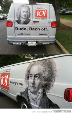 Most awesome van EVER.