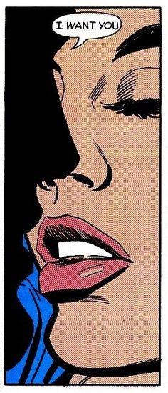 love, comic, and pop art image