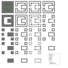 Minecraft floorplans Small Keep