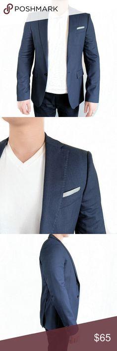 de4b06ab Zara Man Navy Blazer Zara Man Basic Collection Blazer Suit Jacket  Condition: Good Used Condition