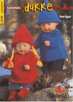 Billede: Crochet Doll Dress, Knitted Dolls, Crochet Hats, Ag Dolls, Barbie Dolls, Baby Born Clothes, Knitting Dolls Clothes, Doll Dress Patterns, Doll Accessories