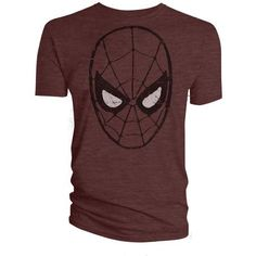 Marvel Official Licensed Quality T-Shirt AMAZING SPIDERMAN HEAD TS LG £11.99