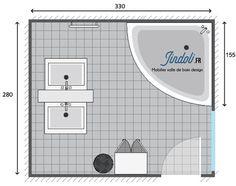 Exemple De Plan De Salle De Bain De 7m2 Plans Pour Grandes Salles