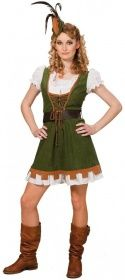 Faschingskostüm Miss Robina Hood