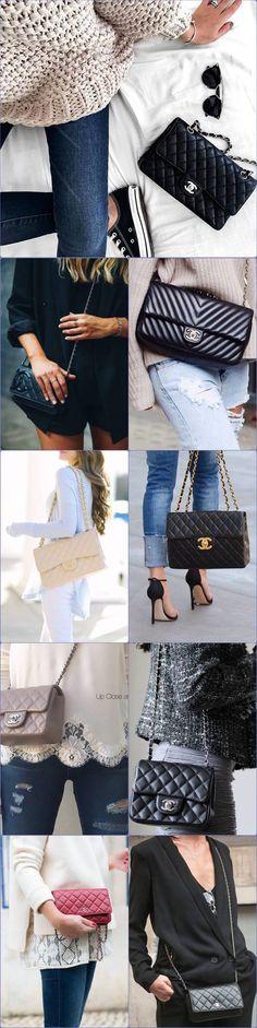 Bolsa pequena de grife Chanel, mini bag, handbag, bolsa tiracolo