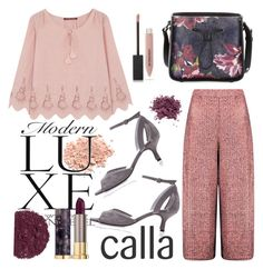 """Calla Shoes"" by bysc ❤ liked on Polyvore featuring Boohoo, Illamasqua, Comptoir Des Cotonniers, 3.1 Phillip Lim, Burberry and Urban Decay"