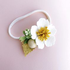 «Яблоневый цвет»❤️Хотелось украсить повязку одним сольным цветком,будто вы только сорвали его на ходу и воткнули ещё живой цветок в волосы. Цветущая яблонь показалась мне очень подходящей своей легкостью и хрупкостью Стоимость 380₽ #flowerlion_яблоня#felt#feltflowers#цветыизфетра#повязканаголову#повязкаизфетра