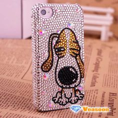 Puppy iPhone 4 caseCute iPhone 4 case iphone 4 skin by Veasoon, $33.99