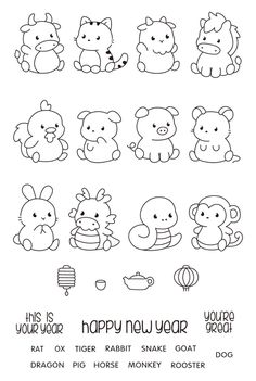 Art Drawings For Kids, Easy Drawings, Animal Drawings, Fun Crafts For Kids, Diy For Kids, Notebook Doodles, Kawaii Illustration, Princess Coloring, Sketch Notes