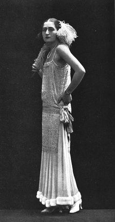 Robe du soir, 1924 par Dorat
