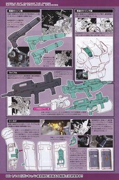 Mobile Suit Gundam The Origin: Mechanical Archives