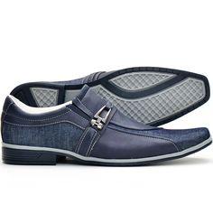 99baaa24bf sapato social masculino casual bico alongado lançamento