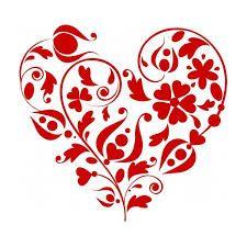 """Résultat de recherche d'images pour """"dessin coeur stylisé"""""""