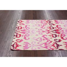 nuLOOM Pop Lanterns Ikat Dragon Fruit Rug. Our NYC showroom is at 225 West 37th st New York NY 10018. home decor, rug, area rug, carpet, pattern, print, design, decor, style, modern, home, house, contemporary, trends, interior design, interiors, sale, discount.