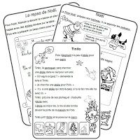 IPOTÂME ....TÂME: CP lecture textes Noël French Worksheets, French Education, Core French, French Classroom, Reading Lessons, Teaching French, Learn French, Classroom Organization, Classroom Ideas