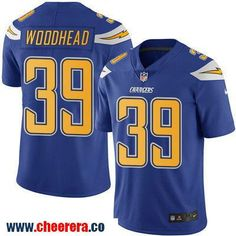 Men's San Diego Chargers #39 Danny Woodhead Royal Blue 2016 Color Rush Stitched NFL Nike Limited Jersey