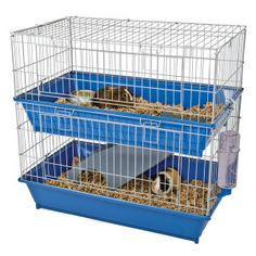 All Living Things® Duel Level Ramp Habitat Small Pet | Cages | PetSmart