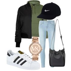 A fashion look from July 2016 featuring Topshop jackets, Frame Denim jeans and adidas sneakers. Browse and shop related looks.