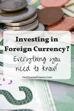 Foreign Currency Investment Also Called Exchange Or Forex Is Fairly