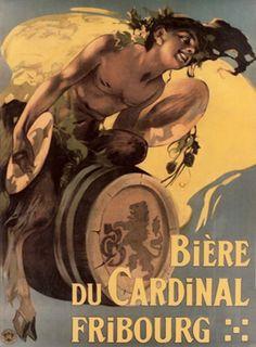 Bière du Cardinal, Fribourg by Hohenstein Adolfo / 1900