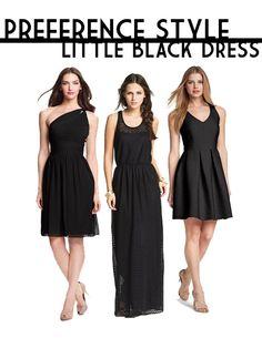 PREFERENCE STYLE   LITTLE BLACK DRESS